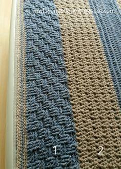 En hier is hij dan! Free Crochet, Crochet Hats, Crochet Afghans, Sewing Patterns, Crochet Patterns, Beach Blanket, Ribbon Embroidery, Crochet Projects, Free Pattern