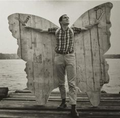 nothing less than wooden butterfly wings | mario ceroli #art
