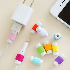 Best Sellers Fashion New USB Cable Earphones Protector Colorful Cover For  Apple Iphone 4 5 6 Plus For Android  6s s6 note 5 iPhone Covers Online Price: $ 7.49