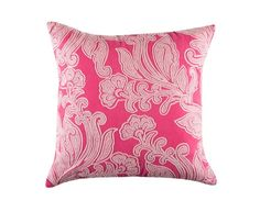 Cushion cover kas size 45cm x 45cm emery pink design home decor cotton