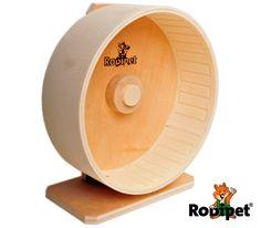 Ø 20 cm (Höhe 23-31 cm) Rodipet® Premium Holzlaufrad