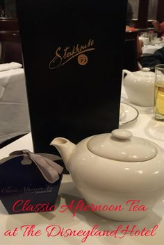 Learn all about having Tea at The Disneyland Hotel
