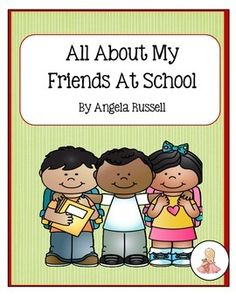 This is a cute 9 page book to complete during the first week of school.  It includes:An Autograph Page Counting Friends Let's Vote activity  Find A Friend pagePlace Names In ABC OrderDo you know who?- large group activity