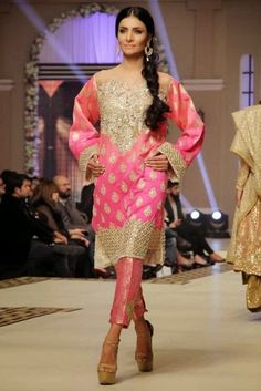 Bridal Wear created by Faraz Manan from 2015 Collection 4