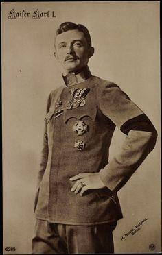 Kaiser Karl I (of Austria) & IV (of Hungary)