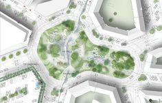 First climate adapted neighborhood | Copenhagen Denmark | TREDJE NATUR