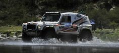Help for Heroes on the Dakar 2013 in Bowler Wildcat