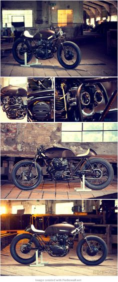 HONDA CB CAFE RACER BY EXESOR - created via http://pinthemall.net