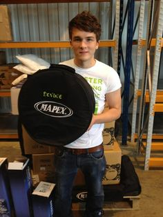 Josh Devine. He's about the only guy who can still look good when standing besie the boys.