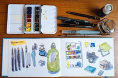 Packing list for Cambodia sketching trip (9-14 Jan 2014) | Parka Blogs