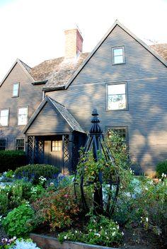 Nathaniel Hawthorne's House, Salem, Massachusetts