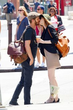 Emma Stone and Andrew Garfield are the cutest lovebirds!