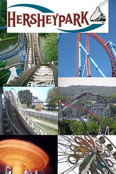 Hershey, Pennsylvania - Comet; Fahrenheit; Lightning Racer; Great Bear; Storm Runner; Sidewinder; Wave Swinger; Ferris Wheel