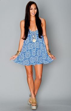 Show Me Your MuMu Bella Dress ~ Mykonos