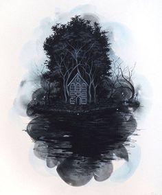 The Forest of Darkness Illustrations – Fubiz Media