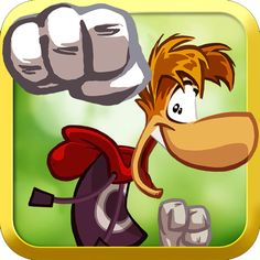 Rayman Jungle Run Android app