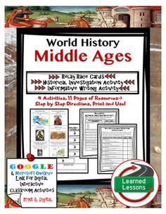 Middle ages research paper
