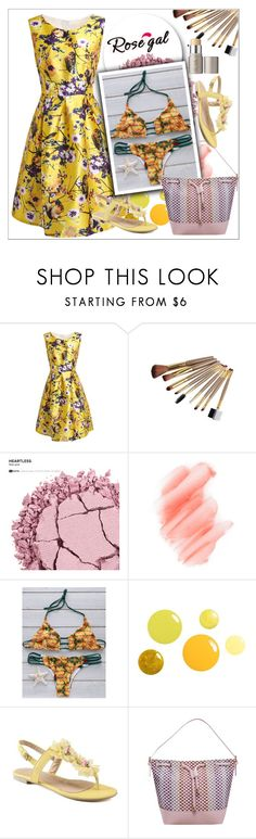 """""""Rosegal lady style"""" by sabine-rose ❤ liked on Polyvore featuring Urban Decay, Birchrose + Co. and Ilia"""