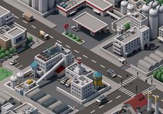 Mini City on Behance