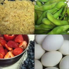 Sunday food prep - Eat Clean/ great ideas for meals and how to prep them!