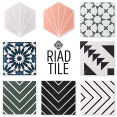 BACK IN STOCK!!! These tiles are back in stock and a few new tiles are here for the first time. All available to purchase on our website,…