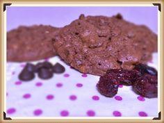 Cupcakes para todos: Cookies de chocolate, nueces y arándanos sin gluten