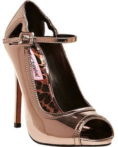 MIMIE PEWTER by Betsey Johnson
