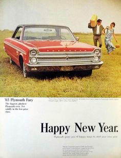 1965 Plymouth Fury, Life Magazine, December 25, 1964