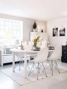 Kleur muur kan mooi icm zwart wit foto's