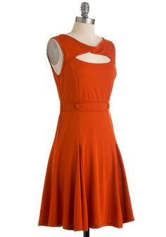 Alright guys, think this dress would be good on me?  Pumpkin Up the Jam Dress, #ModCloth