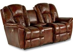 Shop for La-Z-Boy Powerreclinexr Full Reclining Loveseat W/ Middle Console, 39P582, and other Living Room Loveseats at Kemper Home Furnishings in London and Somerset, KY. Harmony Leather Is All Top Grain.