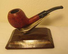 Vintage White Star Half Bent Fish Bowl Style Billiard Estate Briar Tobacco Pipe