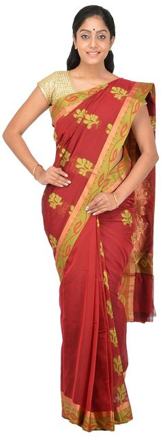 POTHYS Women's Silk Cotton Saree (PDS562, Maroon Colour): Amazon : Clothing & Accessories  http://www.amazon.in/gp/product/B0166XF8FQ/ref=as_li_tl?ie=UTF8&camp=3626&creative=24822&creativeASIN=B0166XF8FQ&linkCode=as2&tag=onlishopind05-21  #Pothys #Silk #Sarees