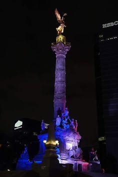 Ángel de la Independencia, Ciudad de #Mexico Maravillas de México!  Tour By Mexico - Google+ Paris 13, New Paris, Monuments, Les Innocents, Mexico City, Cn Tower, Beautiful Places, Places To Visit, Around The Worlds