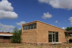 agnes martin studio, galisteo, nm