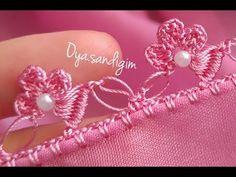 Nişan bohçamdaki en güzel model💕💕💕 Crochet Borders, Filet Crochet, Crochet Stitches, Saree Tassels Designs, Saree Kuchu Designs, Needle Tatting, Tatting Lace, Tatting Patterns, Crochet Patterns