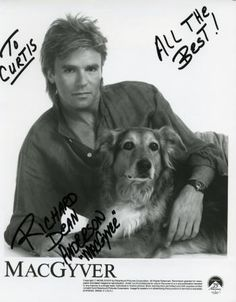 MacGyver and his pet