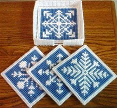 Snowflake Coaster Set