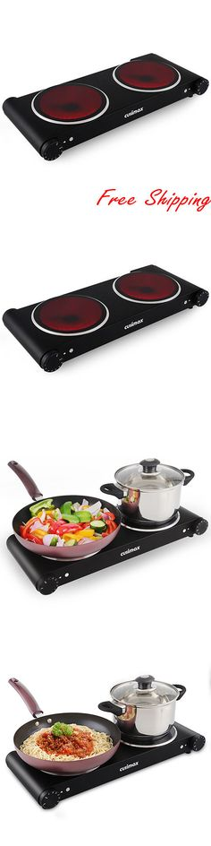 Burners and Hot Plates 177751: Cusimax 1800W Infrared Cooktop Ceramic Double Countertop Burner Outdoor Camping -> BUY IT NOW ONLY: $690.99 on eBay!