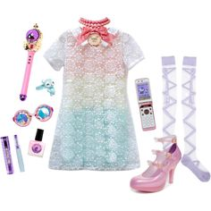 """""""Magical Girl"""" by noirsilhouette on Polyvore"""