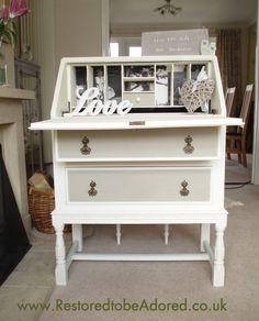 Oak Bureau from www.restoredtobeadored.co.uk