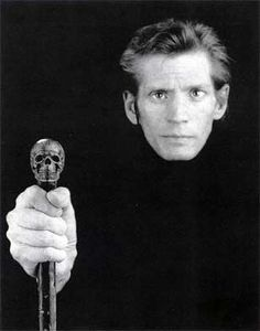 Self Portrait, 1988 by Robert Mapplethorpe