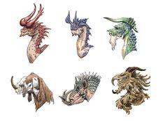 Dragon heads by eoghankerrigan