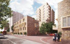 proctor and matthews/mecanoo to regenerate southeast london with vast masterplan