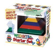 https://wyzli.com/item/AmazonB000068E3K Imagability Wedgits Starter Set - 15 Piece Set:  Toys & Games