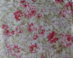 3 SISTERS FAVORITES by Moda~China White~Tea Roses~ Quilt Fabric BTY F188