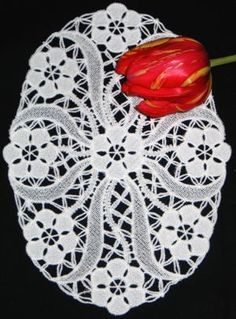 Image result for Advanced Embroidery Designs - Feather FSL Doily
