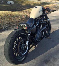 Harley cafe racer                                                                                                                                                      More #harleydavidsonbobberscaferacers #harleydavidsonchoppersbikes