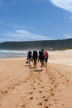 Trekking the Otter Trail. One of the world's most exclusive this journey along South Africa's coast isn't for the fainthearted. Hiking Trips, Backpacking, Go Outdoors, The Great Outdoors, Outdoor Fun, Outdoor Camping, Walk For Life, International Flight Tickets, Summer Madness
