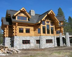 A handcrafted home under construction in California.